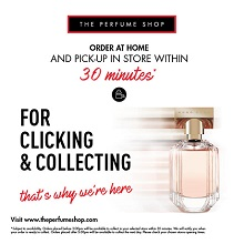 Click & Collect at The Perfume Shop
