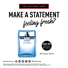 Freshen up with The Perfume Shop